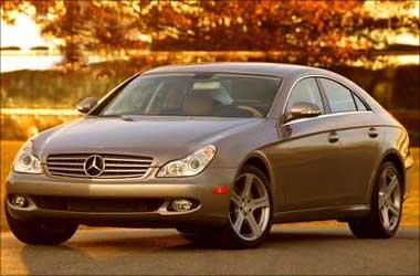 Mercedes Benz CLS-Class.