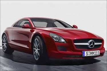 Mercedes Benz SLK Class.