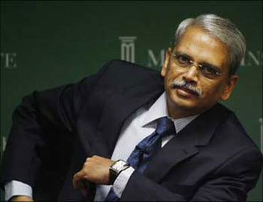 Infosys co-founder and CEO S 'Kris' Gopalakrishnan.