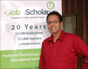 Kal Raman, founder-CEO of GlobalScholar.