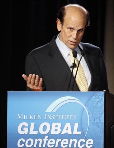Michael Milken, chairman, Milken Institute.