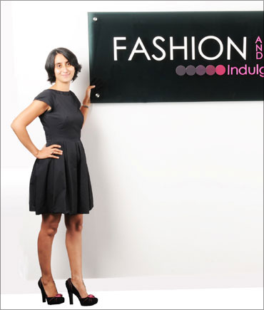 Pearl Uppal, founder and CEO of Fashionandyou.com.