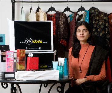 Ishita Swarup, CEO and founder of 99labels.com.