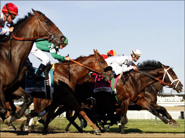 Horse racing is legal in India.