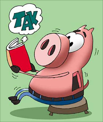 Tax woes.