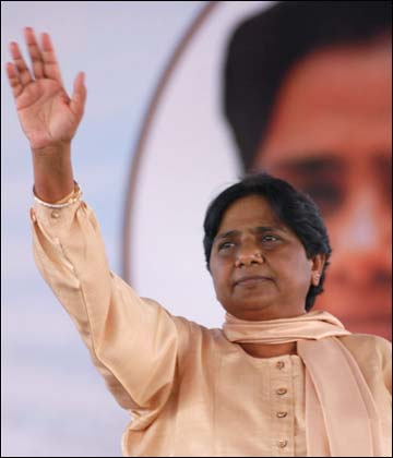 UP Chief Minister Mayawati.