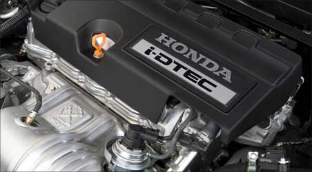 Honda's new i-DTEC diesel engine.