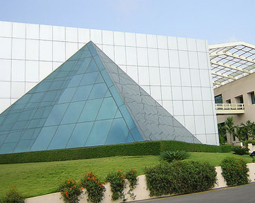 The Infosys Leadership Institute at the company's Mysore campus.