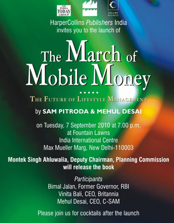 Pitroda to bring digital credit card to your mobile phone!