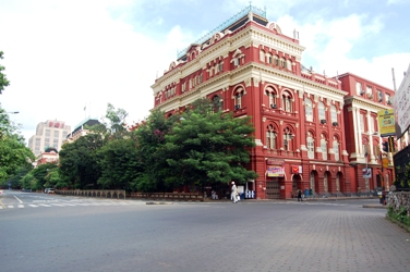 Writers' Building in Kolkata wears a deserted look.