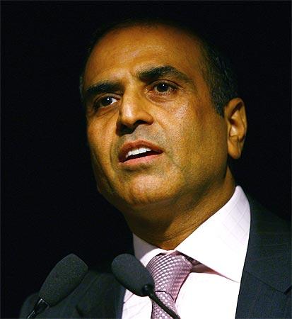Bharti chairman Sunil Mittal.