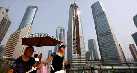 Shanghai has been the driving force behind China's growth.