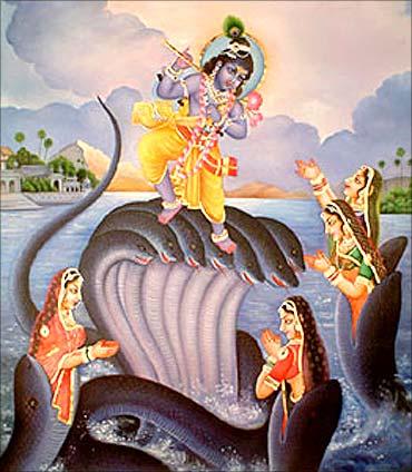 Krishna'a tales.