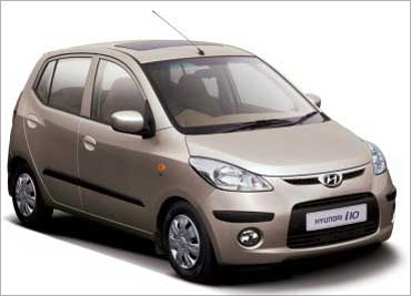 Hyundai i10.