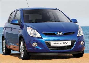 Hyundai i20.
