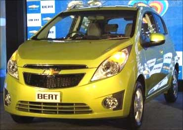 Chevrolet Beat.