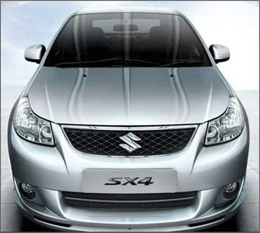 Maruti SX4.