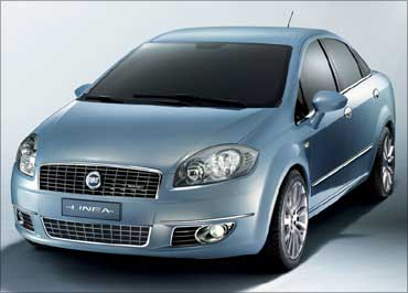 Fiat Linea.
