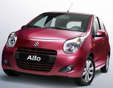 The new Maruti Alto.