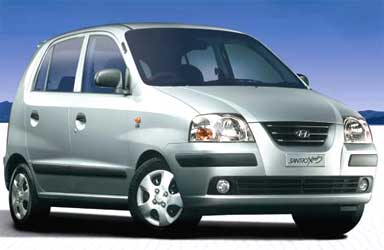 Hyundai Santro.