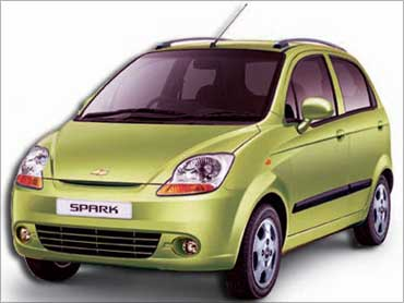 Chevrolet Spark.