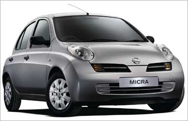 Nissan Micra.