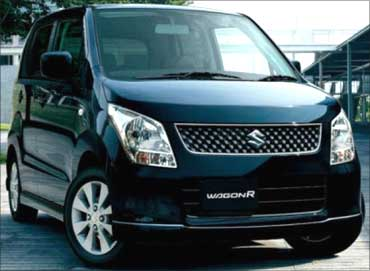 Maruti WagonR.