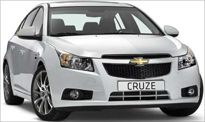 Chevrolet Cruze.