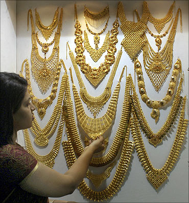 jewellery gold buy collections purchase online god temple laxmi img gram plated one south haram