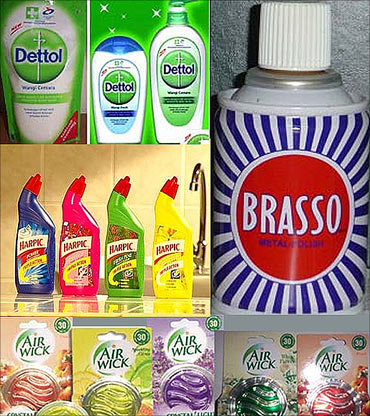 Reckitt Benckiser products.