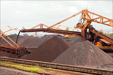 Vale's mining activity.