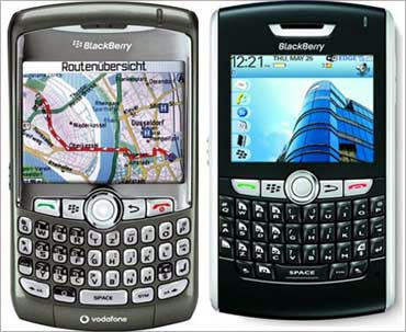 RIM's BlackBerry phone.