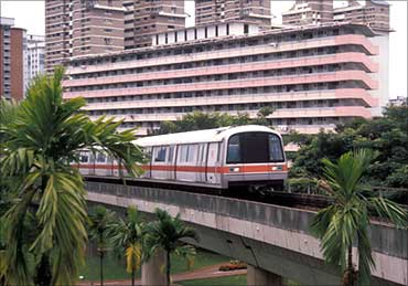 Singapore's MTR.