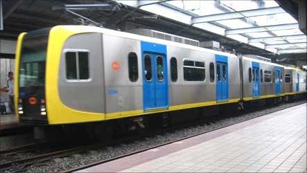 Manila Blue Line.
