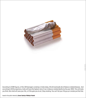 An anti-smoking campaign.