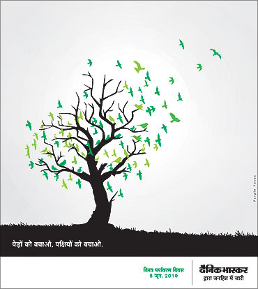 Save trees campaign.