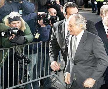 Ponzi-scheme perpetrator Bernard Madoff.