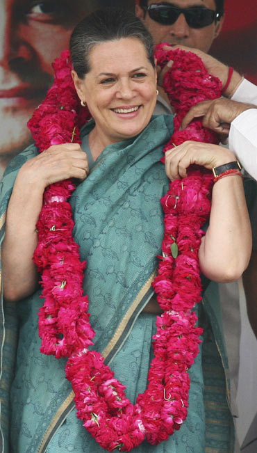 UPA chairperson and Congress president Sonia Gandhi.