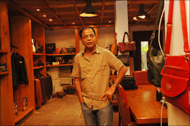 Dilip Kapur, founder-president of Hidesign.