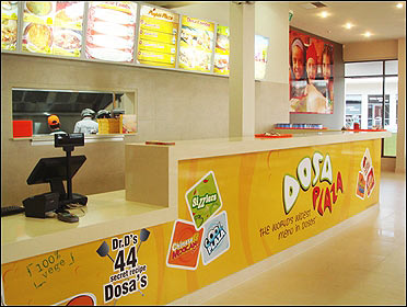 Dosa Plaza outlet.