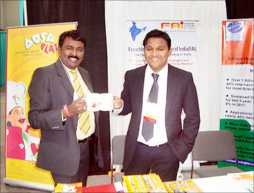 Ganapathy at the US expo.