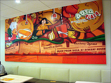 Dosa Plaza, an instant hit.