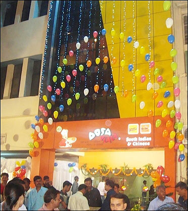Dosa plaza in Bhillai.