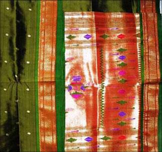 A Paithani saree.