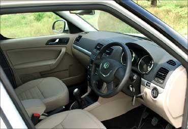 The dashboard of Yeti.