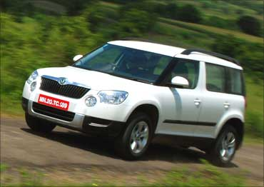 Price-wise, Skoda Yeti offers a great deal