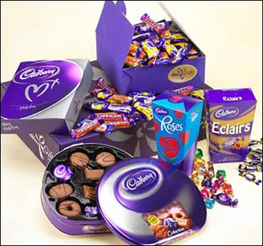 Cadbury chocolates.