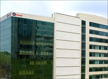 Kotak Mahindra headoffice 'Kotak Infiniti' at Malad in Mumbai.