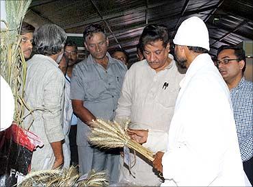 Minister of State for Science and Technology, Prithviraj Chavan talks to Prakash Singh.