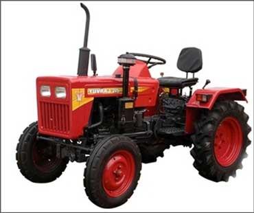 Mahindra tractor.